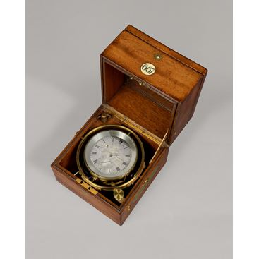 Antique 2-Day Marine Chronometer by Delolme, London no.667